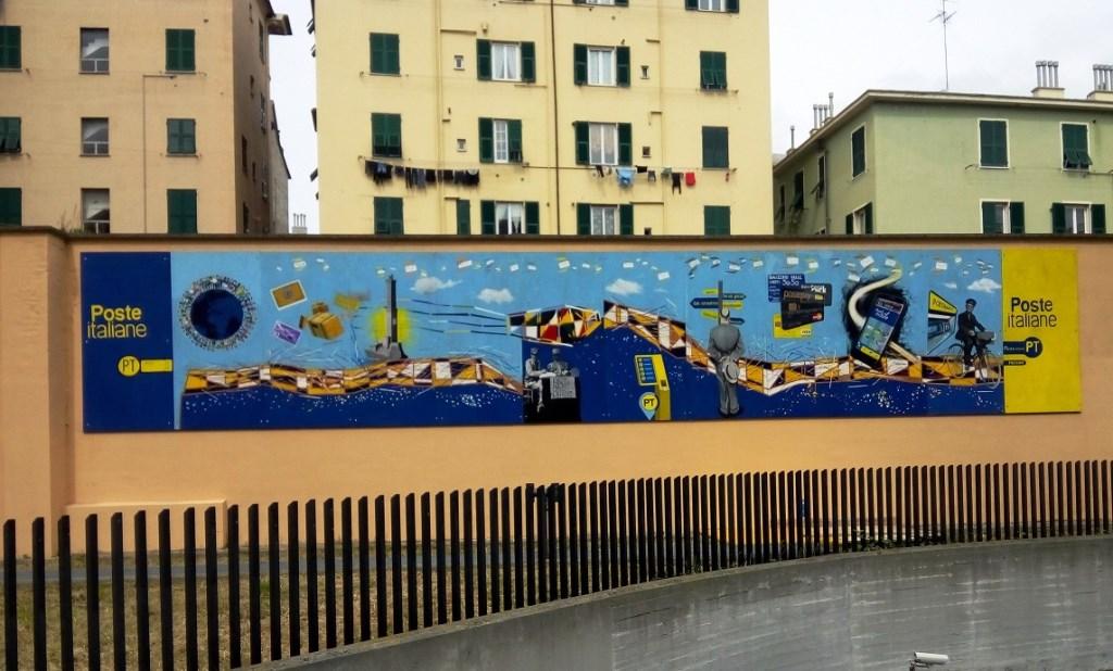 Street art contest progetto murales di poste italiane for Poste italiane permesso di soggiorno