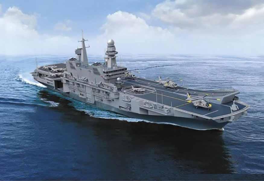 La portaerei cavour in sosta a napoli informagiovani - Cavour portaerei ...